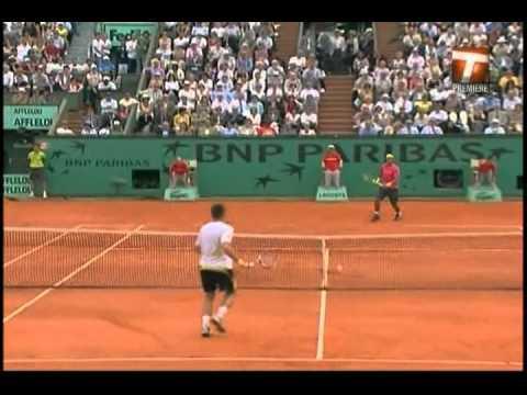 Nadal vs Soderling   Set 2 French open 2009