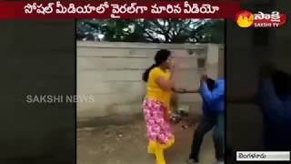 Woman Thrashes Bank Manager for Seeking Sexual Favours - బ్యాంకు మేనేజర్ను చితకబాదిన మహిళ.. - netivaarthalu.com