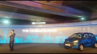 Shah Rukh Khan Sharing About His Relationship With Hyundai Santro @ New Hyundai Santro Launch