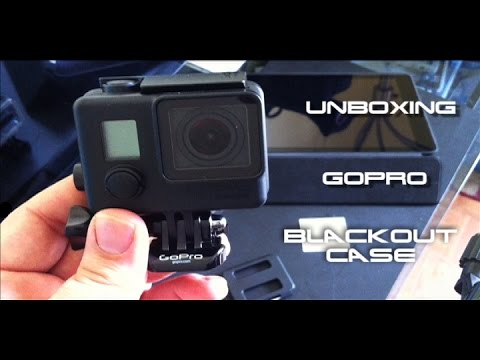 GoPro Hero 3+ Blackout Housing Unboxing & Review!