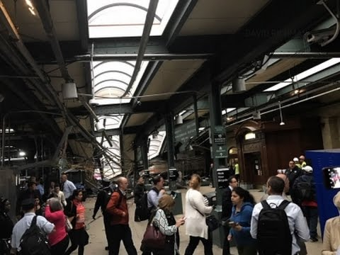 Raw: Images From Inside NJ Train Station Crash