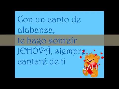 Con un canto de alabanza lyrics niños Iglesia Jehová es nuestro Pastor Tegucigalpa,Honduras