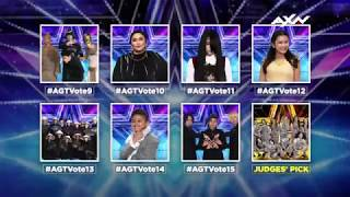 ASIA, VOTE NOW for Your Semi Finalists! | Asia's Got Talent 2017