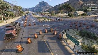 Massive Construction Site in Blaine County WIP (Grand Theft Auto 5 Gameplay)