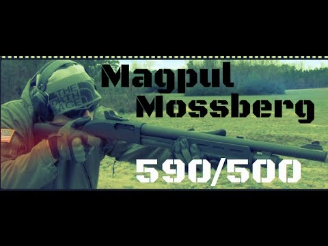 Magpul MOE Mossberg 500 & 590/590A1 Stock & Forend Review (HD)