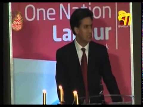 Islam is the symble of  peace - Ed Miliband, news by Sarwoar Hussain