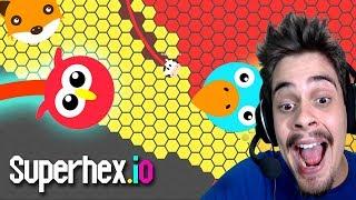 Superhex.io - MELHOR ATUALIZAÇÃO E A MELHOR ESTRATÉGIA!! (New Update) ‹ AbooT ›