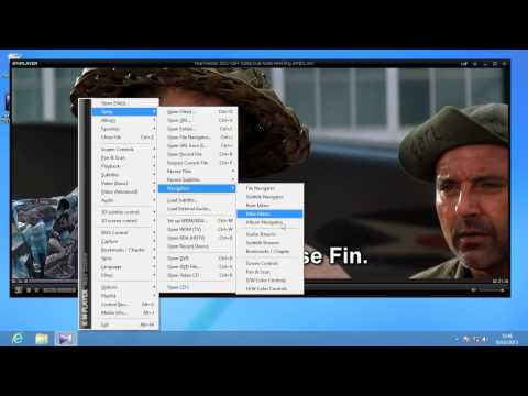 How to change languages in a dual audio movie on KMPlaye
