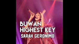 BUWAN HIGHEST VERSION - SARAH GERONIMO LIVE IN BAGUIO