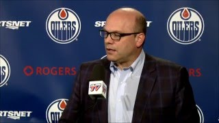 ARCHIVE: Peter Chiarelli Media Availability