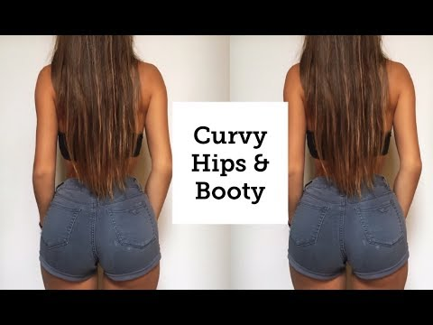 Curvy Hips and Big Booty WORKOUT (HOUR-GLASS FIGURE) thumbnail