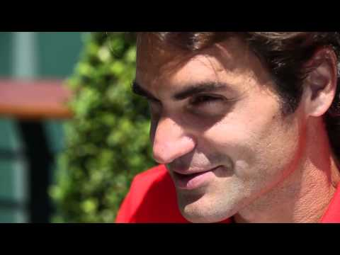 Roger Federer returns to Brisbane International for 2015