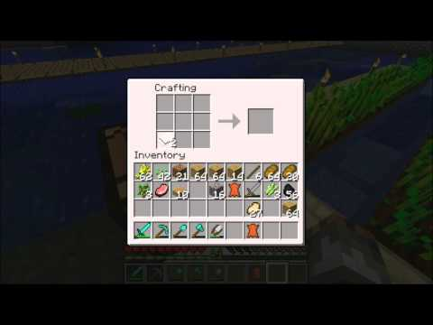 Minecraft Tutorial: How To Make Books And Bookshelfs !