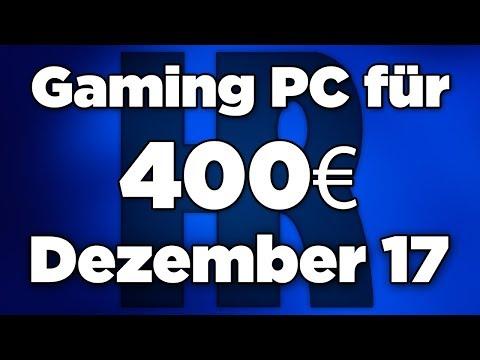 400€ Gaming PC Dezember 2017 | Intel + RX 560 | Computer günstig kaufen