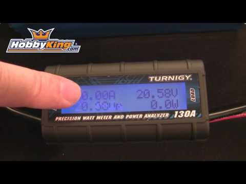 HobbyKing - Turnigy Precision Watt Meter and Power Analyzer