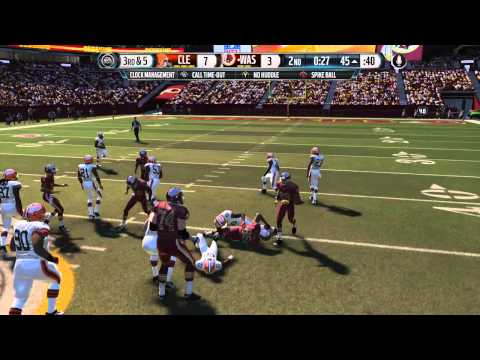 Madden 15 Online Gameplay :: Ranked Ep. 1 :: Redskins vs. Browns :: I'm Awful