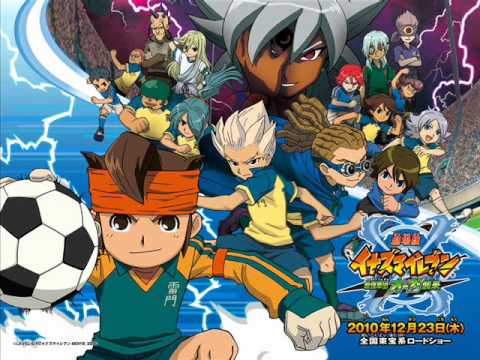 Inazuma Eleven Opening 4 Full video