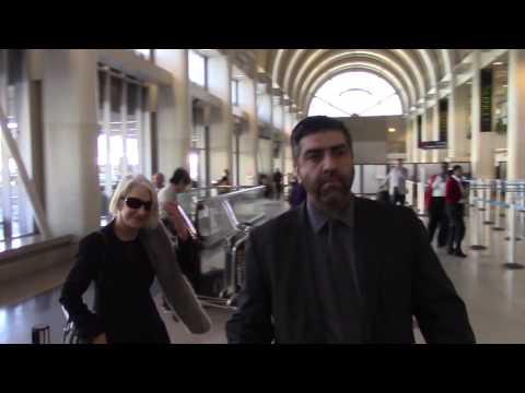 Helen Mirren Seen Arriving At LAX Airport In Los Angeles