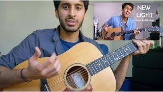 How I play NEW LIGHT by John Mayer