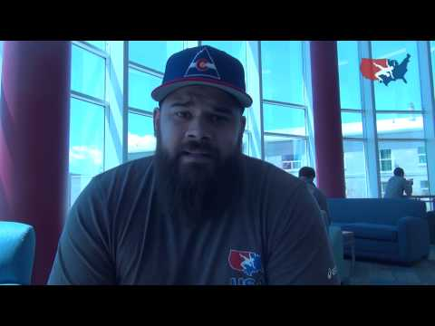 Robby Smith after winning 2015 Pan American Championships