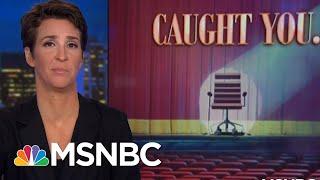 E-Mail Revelation Puts Neat Bow On President Donald Trump FBI HQ Scandal   Rachel Maddow   MSNBC