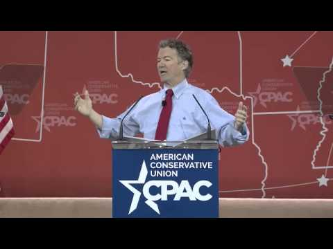 Senator Rand Paul, KY CPAC 2015