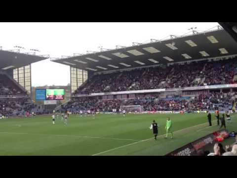 Burnley fc last game 2013