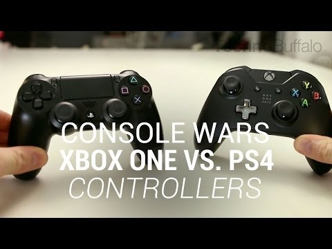 Console Wars: Xbox One Vs. PlayStation 4 - Controllers (Round 1)