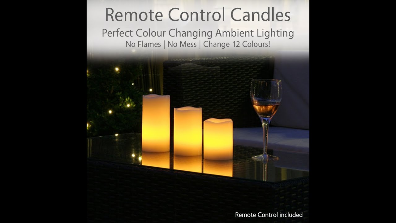 Led Real Wax Candles
