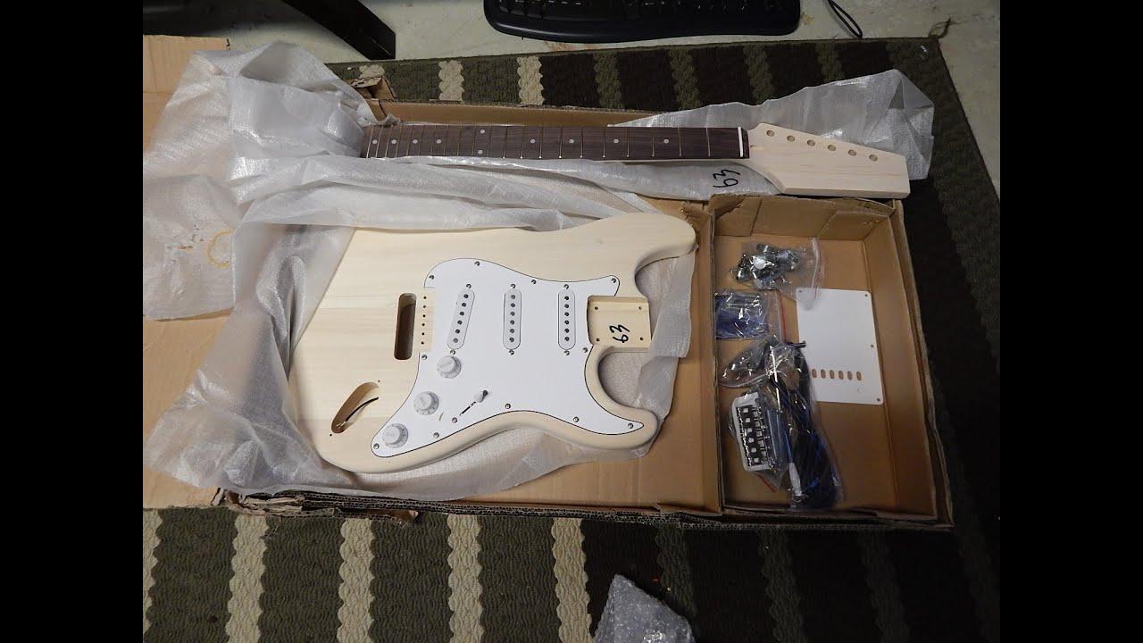 Strat Guitar Kit Strat Electric Guitar Kit