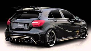 Mercedes W176 A-class BodyKit&ExhaustSystem by Rowen Japan.
