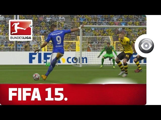 Borussia Dortmund vs. Schalke 04 - FIFA 15 Prediction with EA Sports