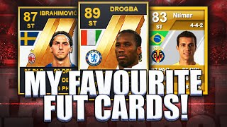MY FAVOURITE FIFA ULTIMATE TEAM CARDS!!! FIFA ULTIMATE TEAM