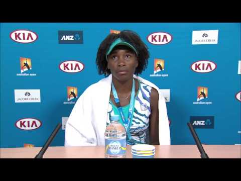 Venus Williams press conference (1R) - Australian Open 2015