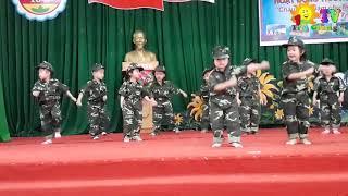 Cháu Thích Làm Chú Bộ Đội    Văn Nghệ Trường Mầm Non  10 3