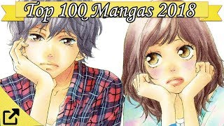 Top 100 Mangas 2018 (All The Time)