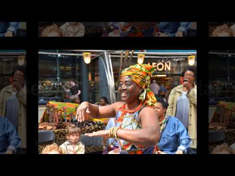 Africa Market at London's Spitalfields