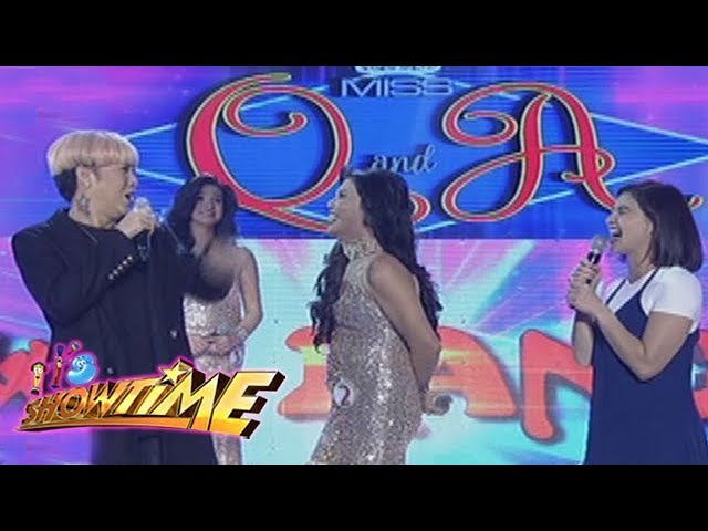 It's Showtime Miss Q & A: Miss Q & A candidate no. 2 and Vice Ganda's kilig moments
