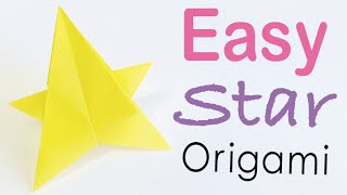 Easy☺︎ Origami Paper Star Tutorial - Origami Kawaii