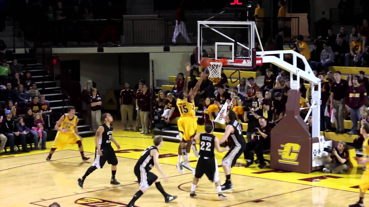 Central Michigan Men's Basketball - Academics First - YouTube