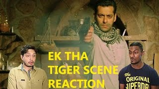 Ek Tha Tiger Scene Reaction | CHASING SPY SALMAN IMPOSSIBLE | By Stageflix