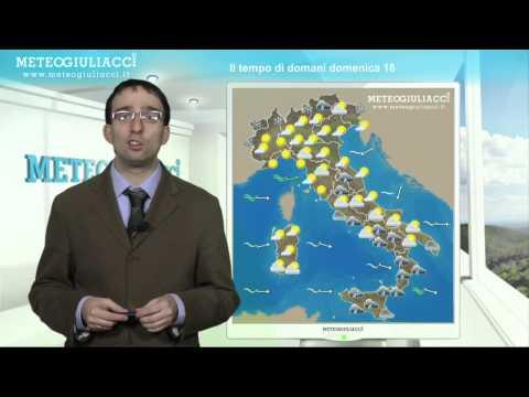 Meteo di dopodomani,Lunedì 17 Dicembre 2012.