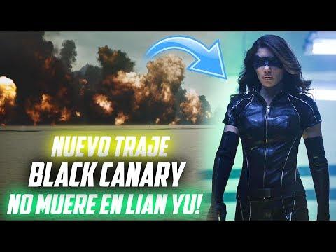 NUEVO TRAJE Black Canary y NO MUERE en Lian Yu! - Arrow Temporada 6 Teaser