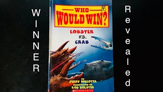 Who Would Win? Lobster vs Crab WINNER REVEALED! Every Page shown!