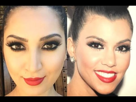 Kourtney Kardashian Makeup Tutorial