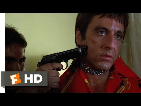Scarface (1983 - Chainsaw Threat Scene (2/8) | Movieclips