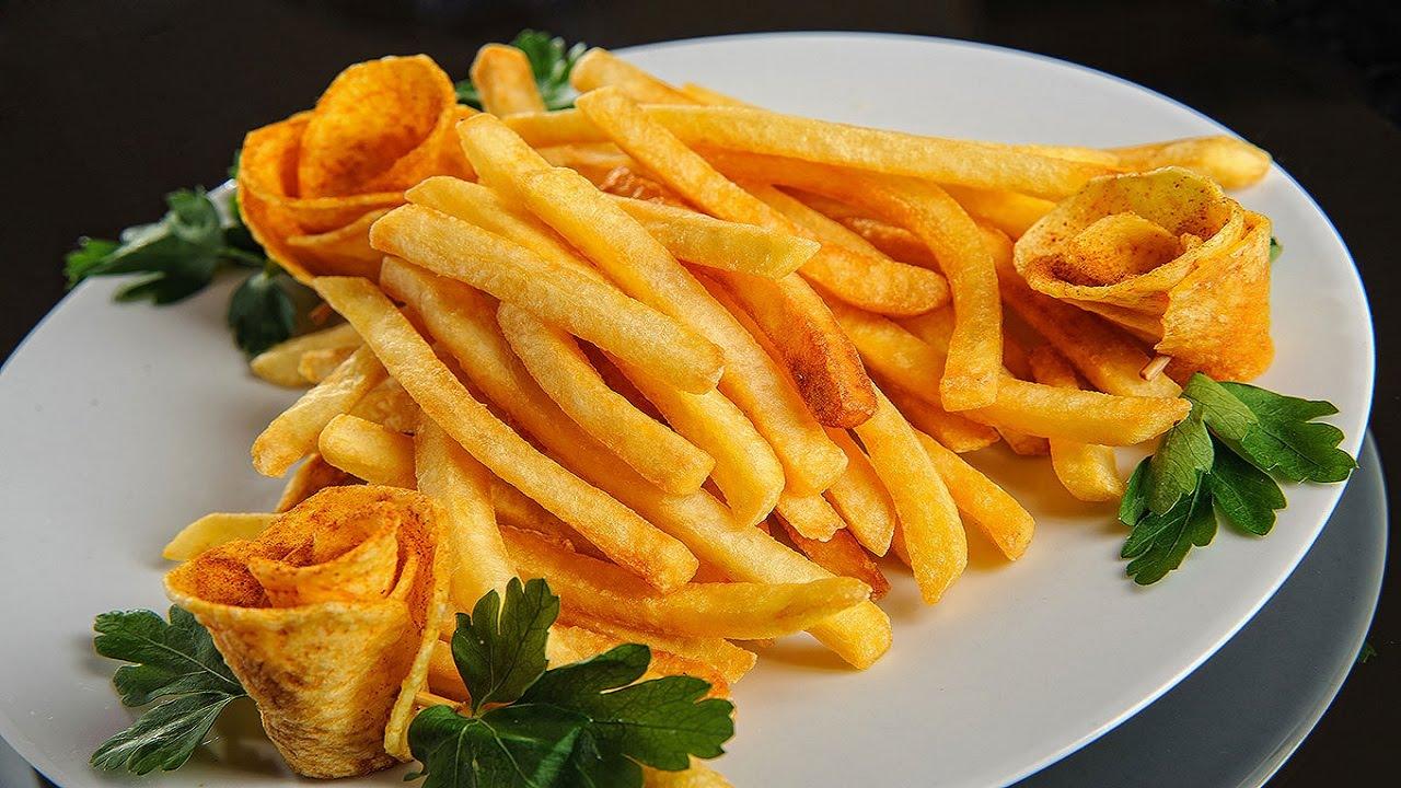 Как сделать корочку на картошке фри