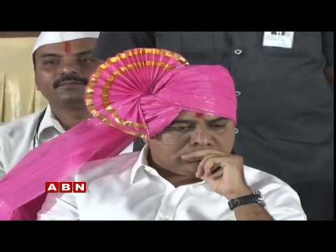 KTR Public Meeting Live in Hyderabad | TRS Election campaign | ABN Live