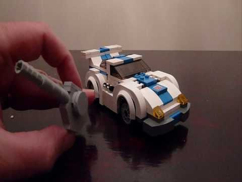 JAZZ. a Lego Transformers Creation