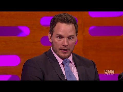 Chris Pratt gets NAKED on Parks and Rec - The Graham Norton Show